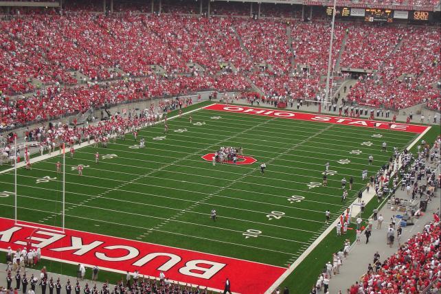 Ohio State Buckeye Stadium.