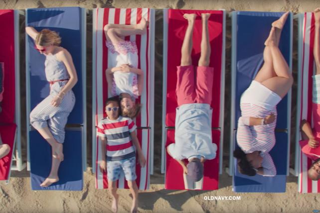 Watch the newest ads on TV from Old Navy, Hims, Hotwire and more