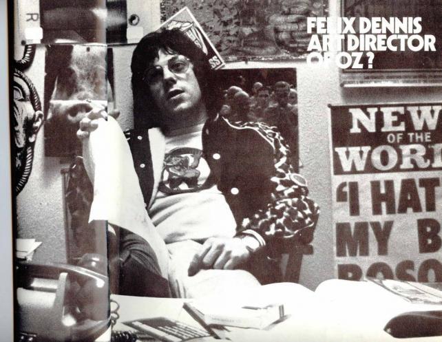 Felix Dennis in the 1970s.