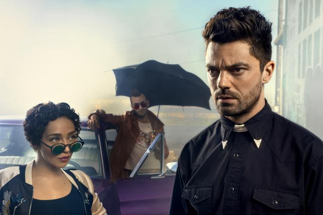 The AMC original series 'Preacher' recently began its second season.
