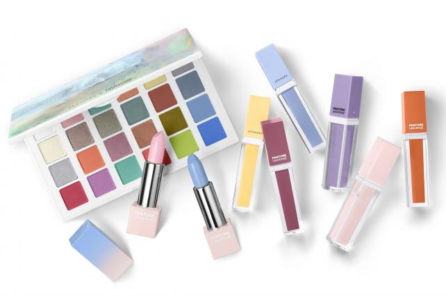 Sephora partners with Pantone on a Color of the Year collection.