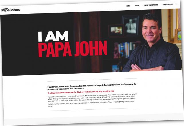 In newspaper ad, Papa John's founder says he wants to get to the 'truth'