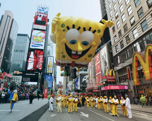 Macy's 92nd annual Thanksgiving Day Parade steps off Nov. 22 in New York.