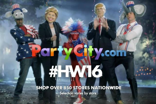 Party City scares up sales during Halloween.