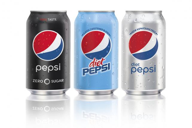 Pepsi's New Sugar-Free Lineup