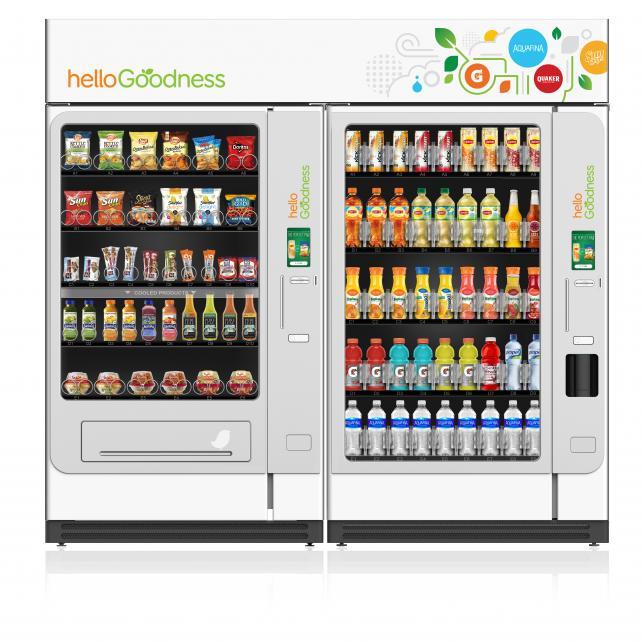 PepsiCo Hello Goodness Vending Machine