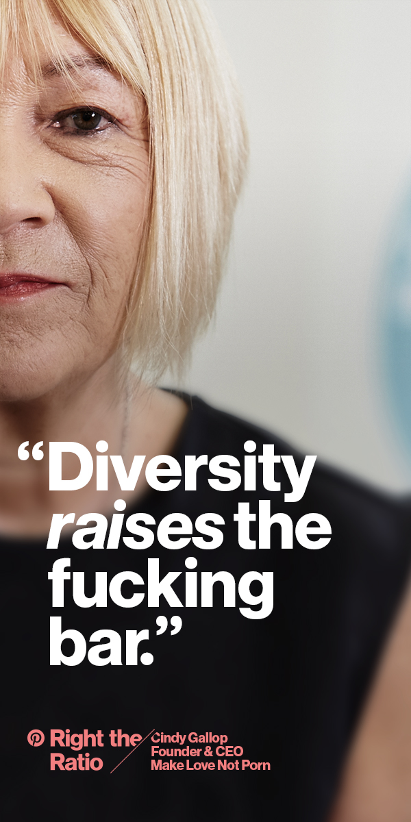 Cindy Gallop says enough of the lame excuses—put women in the workplace.