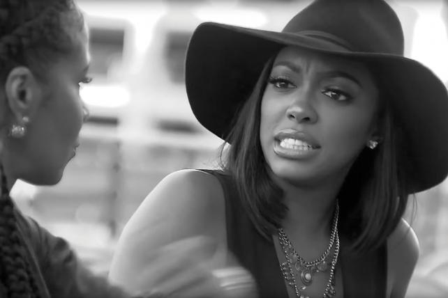Porsha Williams in an episode of 'Real Housewives of Atlanta.'