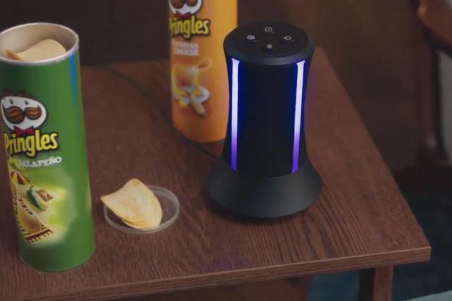 Pringles' Super Bowl teasers showcase an emotional smart speaker