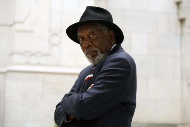 Morgan Freeman in season 2 of 'The Story of God.'