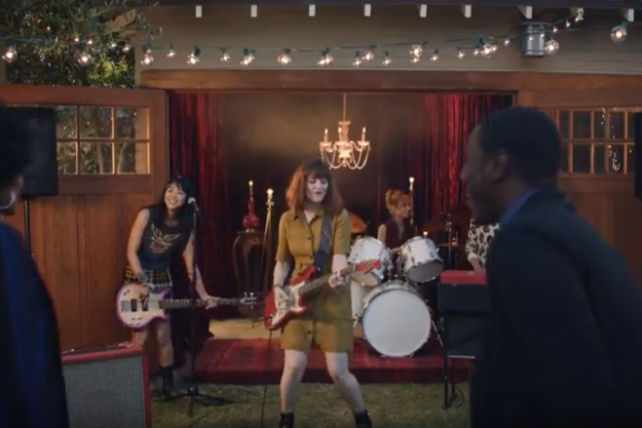 A scene from Quicken Loans' new campaign last spring, begun under its new CMO.
