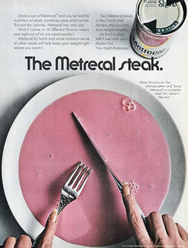 Metrecal, 1969
