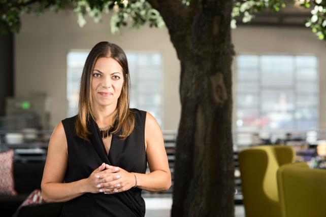 Pitch's incoming CEO Rachel Spiegelman