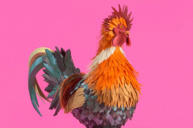 Brands Celebrate Year of the Rooster With Emojis, Mobile Games, Art