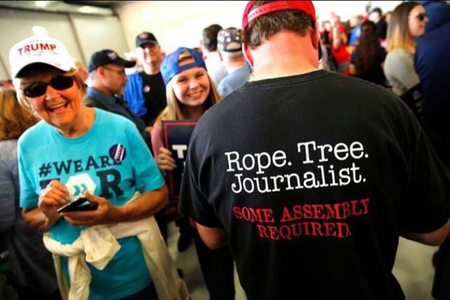 You Could Still Buy That 'Rope. Tree. Journalist.' Shirt on Walmart.com Until Yesterday
