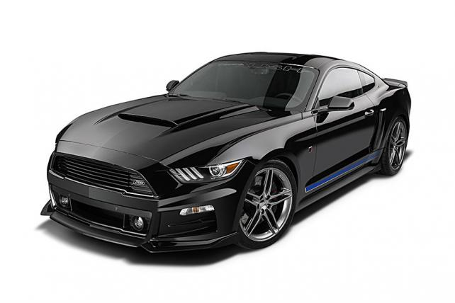 A Roush Performance Mustang