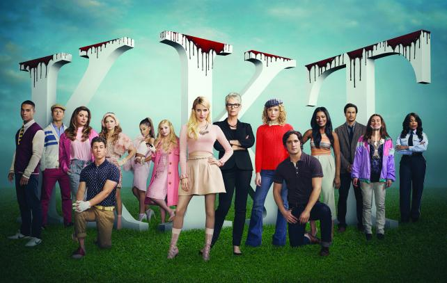 The audience for Fox's 'Scream Queens' grew 83% to 7.3 million in three days of viewing.