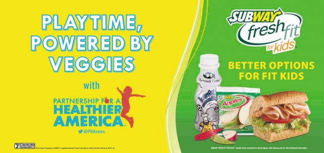 Subway To Launch Its Biggest Kids Marketing Effort News Ad Age