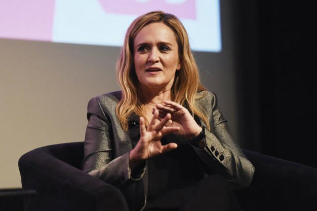 Samantha Bee at TBS' 'Full Frontal With Samantha Bee' FYC Event at the Writers Guild Theater in May.