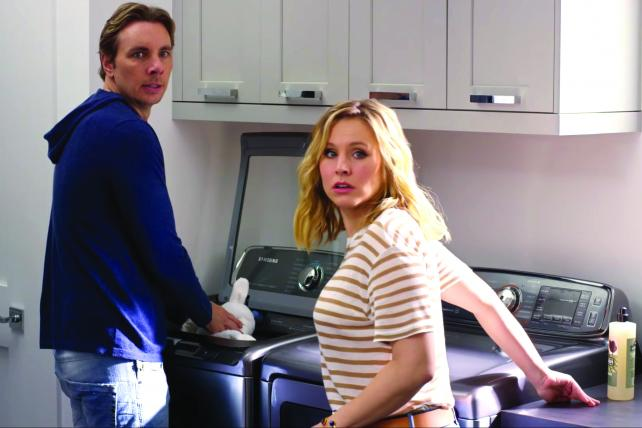 Samsung has put on hold its washer ads featuring Kristen Bell and Dax Shepard.