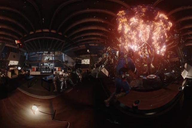 Samsung/Marvel: Battle for the Avengers Tower