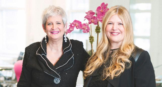 (From l.) Sandy Greenberg and Terri Meyer of the Terri & Sandy Solution