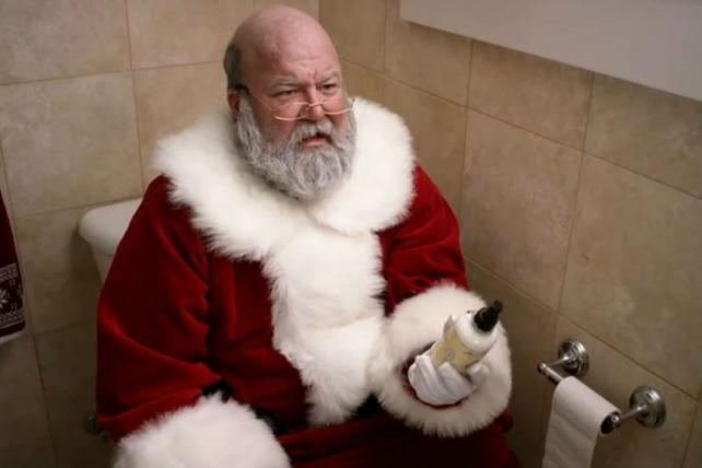 Ad Review: Why Poo-Pourri's Stinky Santa Belongs on the Nice List