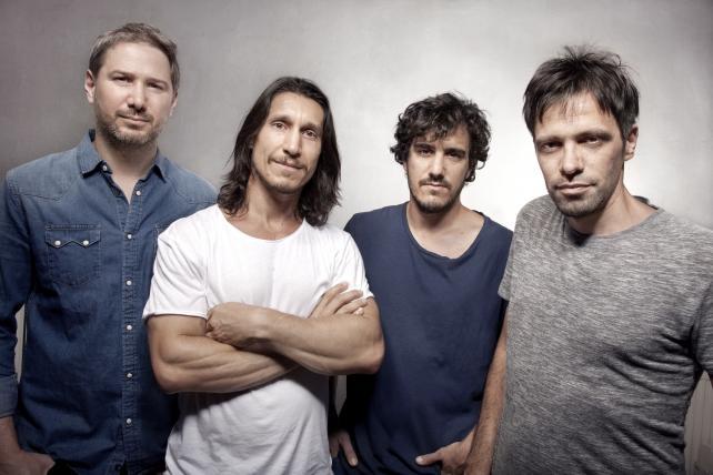 (From l.) Ariel Serkin, Maxi Itzkoff, Rafael Santamarina and Juan Pablo Lufrano.