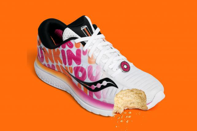 Dunkin' sneakers drop ahead of Boston Marathon