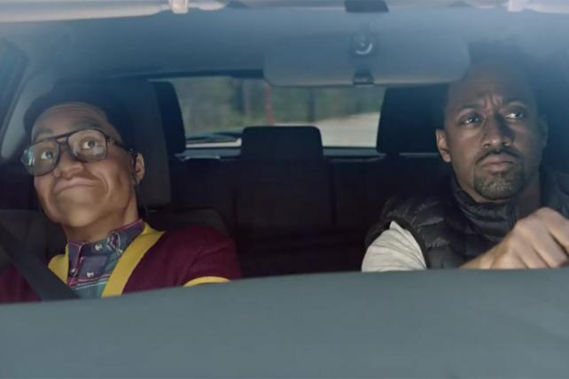Scion ad starring Jaleel White and Wax Museum Steve Urkel
