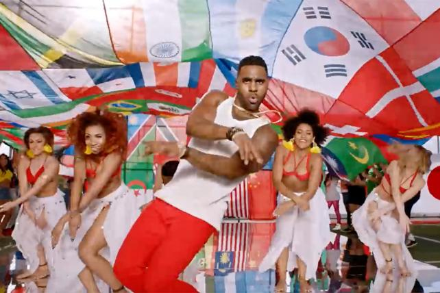Coke tapped Jason Derulo for its World Cup anthem.