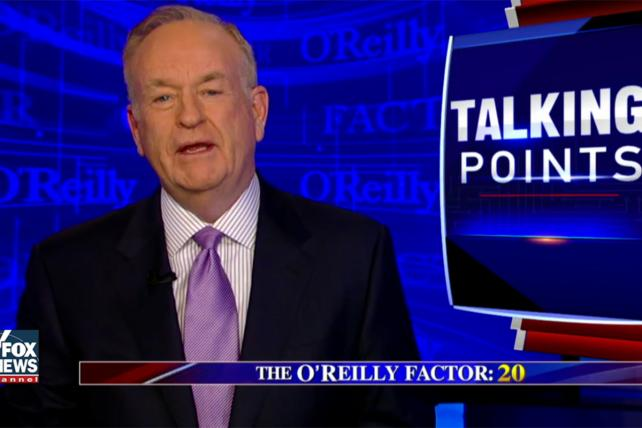'The O'Reilly Factor' is feeling the heat.