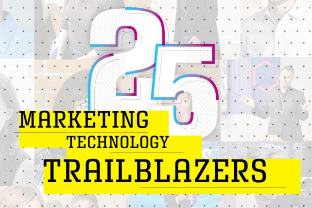 25 Marketing Technology Trailblazers