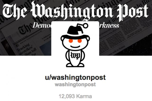 Profile pages let publishers post their own content to Reddit without being punished for spamming.