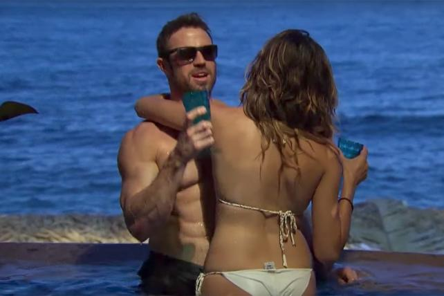 A scene from last summer's season of 'Bachelor In Paradise.'
