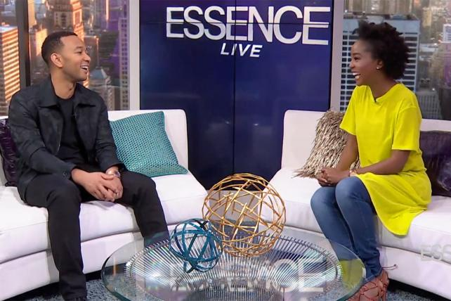 John Legend appears on the first episode of 'Essence Live.'