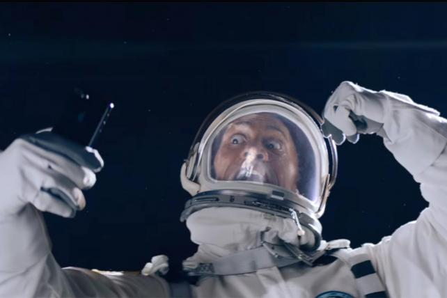 The Rock in Appl's new ad for Siri.