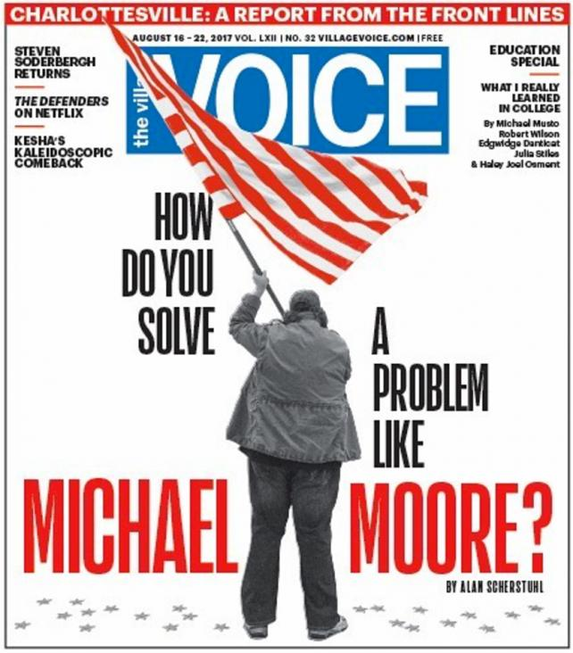 The current issue of the Village Voice.