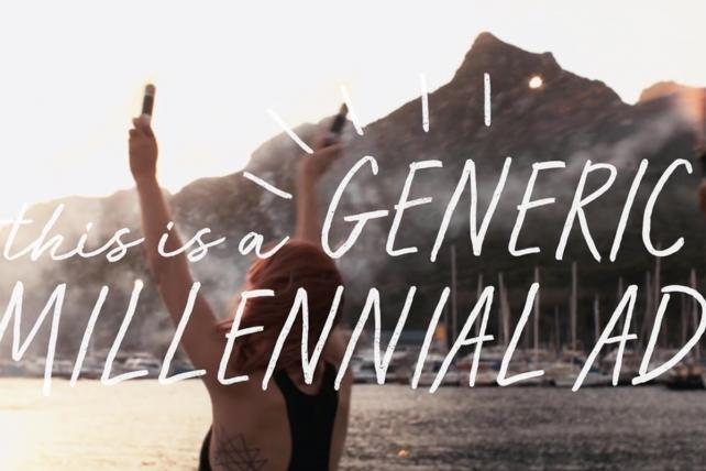 #TBT: Watch 'This Is a Generic Millennial Ad' and another classic spoof made from stock footage