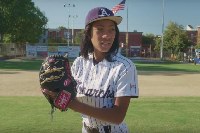 Chevrolet featured Little League standout Mo'ne Davis in a 2014 World Series commercial.