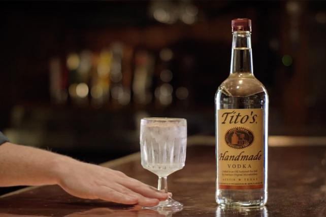 Best selling vodka in america