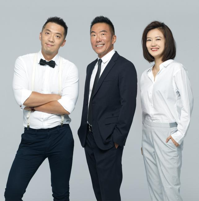 Frontier's founders (from l.): Alex Xie, Richard Lee and Tina Wang.