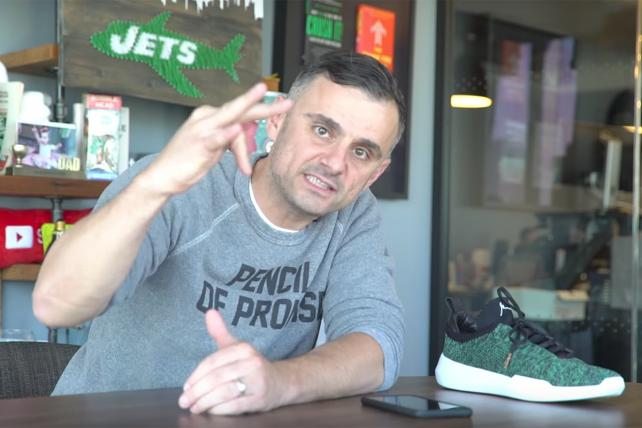 Gary Vaynerchuk and K-Swiss teamed up on two sneakers.