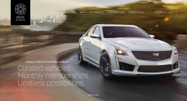 Cadillac is pitching a service that lets subscribers swap cars almost like Netflix DVDs.