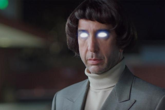 David Schwimmer in a teaser for an ad that's not even really a Super Bowl spot.