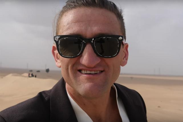 Neistat out