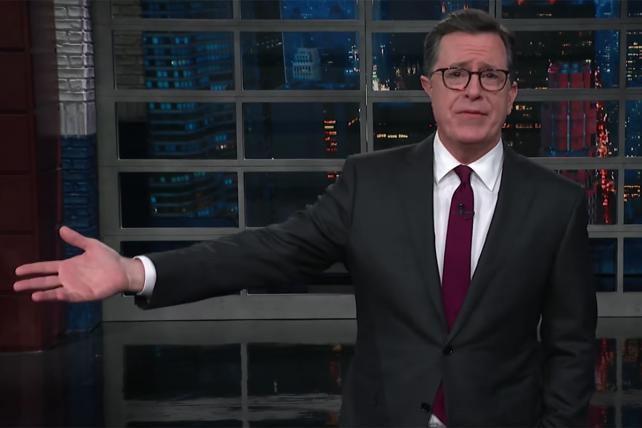Colbert on Hope Hicks' 'White Lies' Admission: 'Well, Duh. Telling Lies to White People Is What Got Trump Elected'