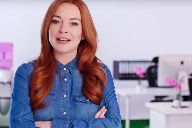 Here's the problem with Lindsay Lohan's Lawyer.com ad