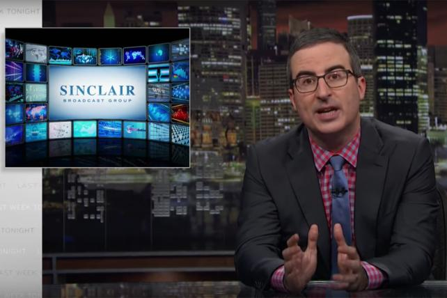 Watch John Oliver explain the Sinclair 'fake news' scandal -- and Sinclair itself