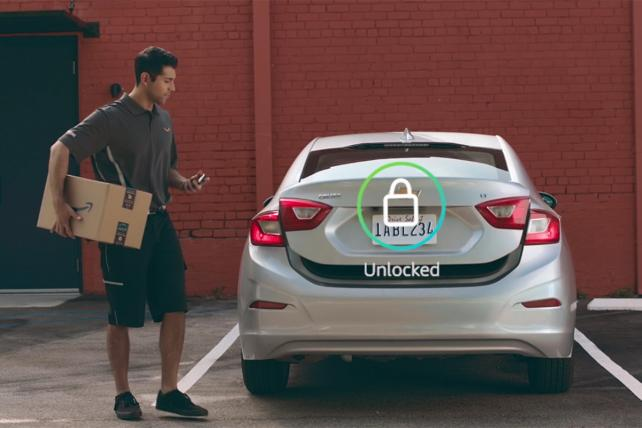 Amazon's next stop: the back seat of your car